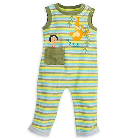 The Jungle Book Long Leg Baby Romper