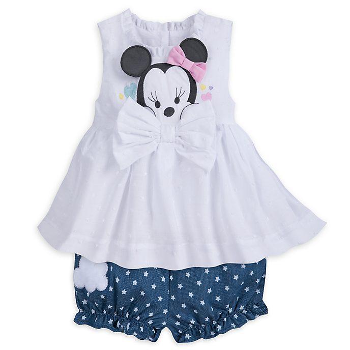 Completo maglietta e culotte baby Minni
