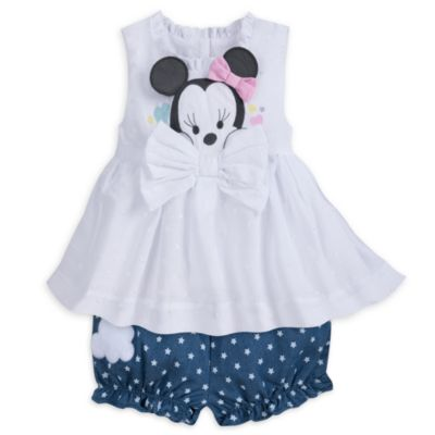 Minnie Mouse Baby Top and Bloomers Set