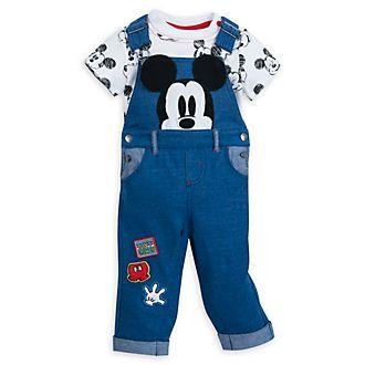 Disney Store -Micky Maus - Set mit Latzhose und Body für Babys
