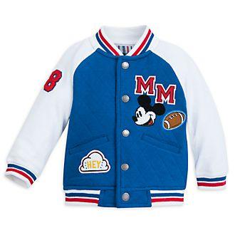 Disney Store Blouson Mickey Mouse style universitaire pour bébé