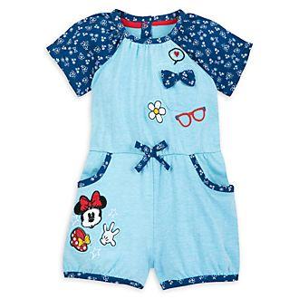 Disney Store Minnie Mouse Short Leg Baby Romper