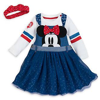Disney Store Minnie Mouse Baby Dress and Sweatshirt Set