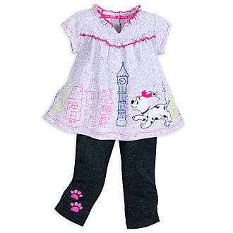 Ensemble haut et legging Les 101 Dalmatiens pour bébé, Disney Store