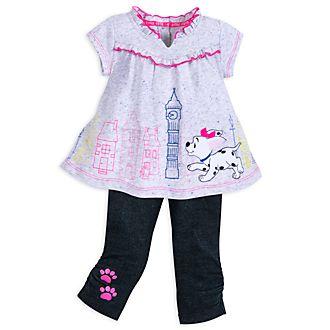 Disney Store 101 Dalmatians Baby Top and Leggings Set