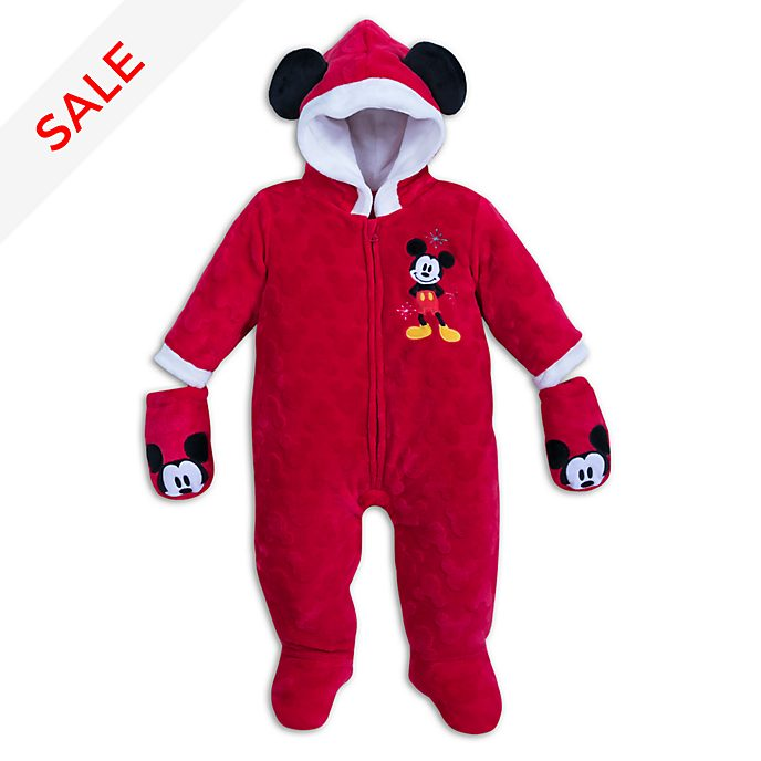 Disney Store - Share the Magic - Micky Maus - Kuschelstrampler für Babys