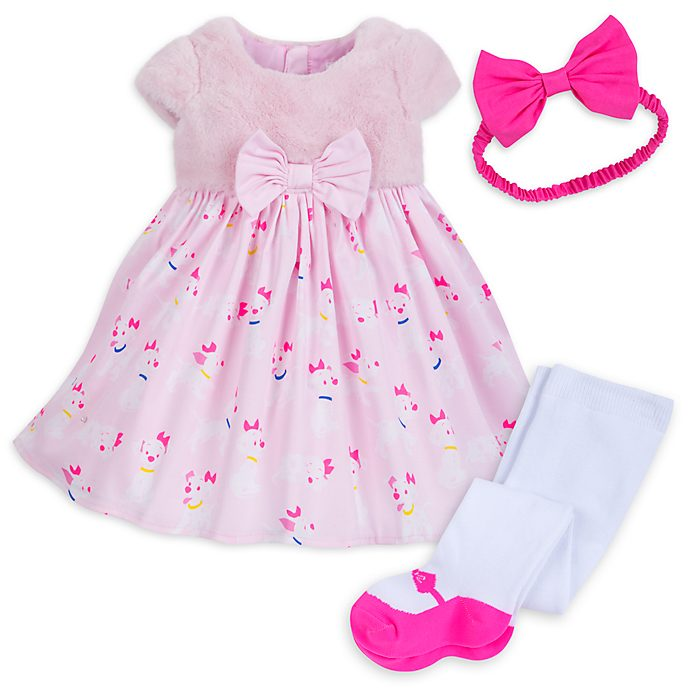 Disney Store 101 Dalmatians Baby Dress and Tights Set