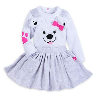 Disney Store 101 Dalmatians Baby Dress and Body Suit Set