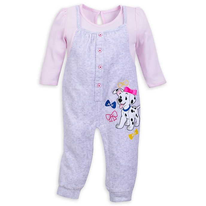 Disney Store - 101 Dalmatiner - Baby Body in Pink