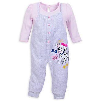 Body rosa 101 Dálmatas para bebé, Disney Store