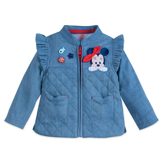 986faa686 Disney Store Minnie Mouse Baby Jacket