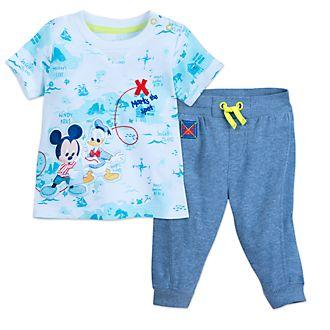 Completo maglietta e pantaloni baby Topolino e Paperino Disney Store