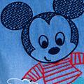 Disney Store Haut et salopette Mickey Mouse pour bébé