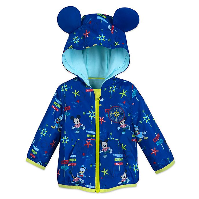 Disney Store Mickey Mouse And Donald Duck Baby Jacket