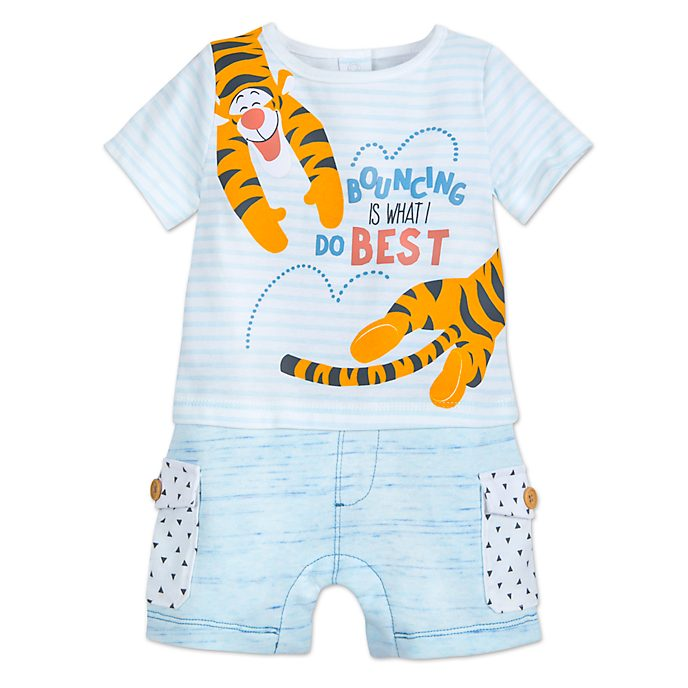 Disney Store Tigger Baby Body Suit