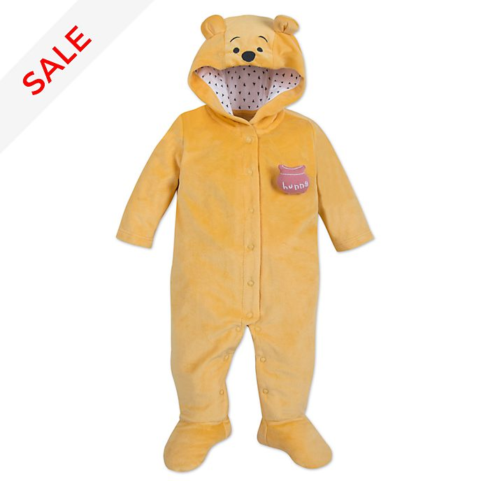 Disney Store Winnie the Pooh Baby Costume Body Suit
