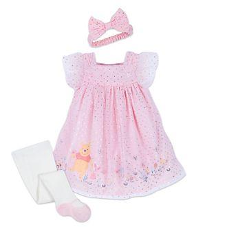 Disney Store Ensemble robe et collants Winnie l'Ourson pour bébé