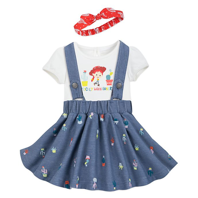 Disney Store Jessie Baby Dress and Body Suit Set
