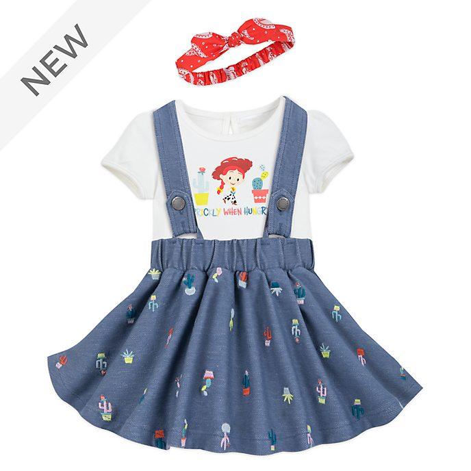 Disney Store Jessie Baby Dress and Body Suit Set