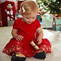 Disney Store Ensemble robe et culotte Minnie HolidayCheer pour bébé