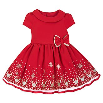Conjunto vestido y pololo para bebé Minnie, Holiday Cheer, Disney Store