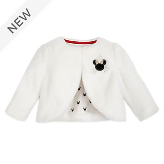 Disney Store Minnie Mouse Baby Fluffy Jacket