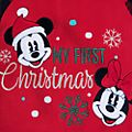 Disney Store Body molletonné Mickey et Minnie pour bébés, Holiday Cheer