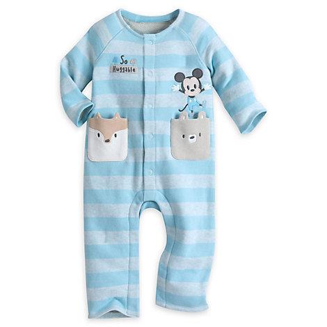 Mickey Mouse sparkedragt til baby