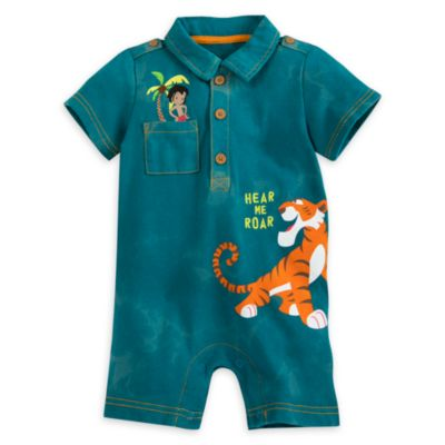 Barboteuse: Le Livre de la Jungle pour bébés
