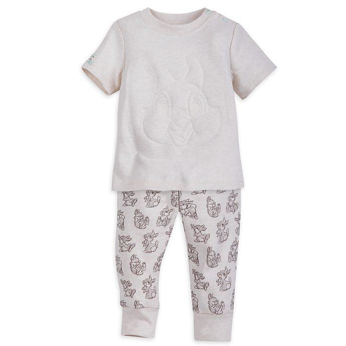 Klopfer - Set mit kurzärmeligem Oberteil und Hose für Babys