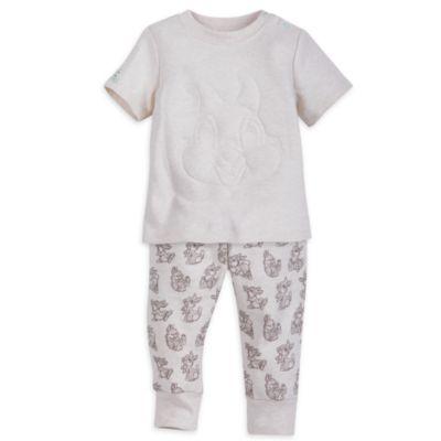 Conjunto de camiseta de manga corta y pantalones de Tambor para bebé