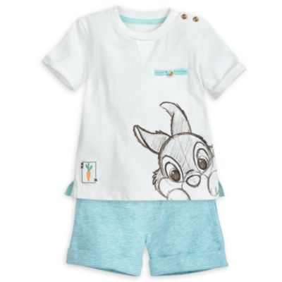 Thumper Baby Top and Shorts Set