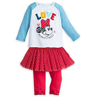 Disney Store - Minnie Maus - Set mit Oberteil und Leggings für Babys