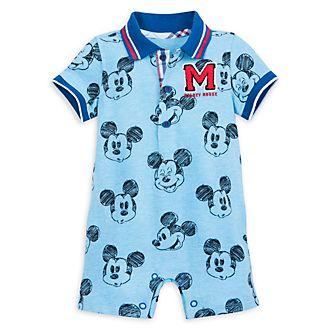 Barboteuse courte Mickey Mouse pour bébé, Disney Store