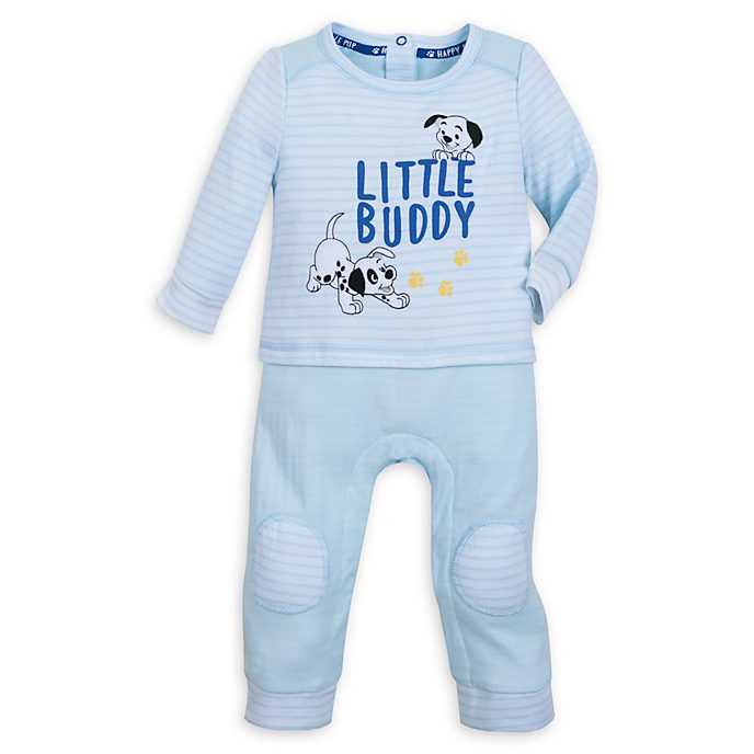 Disney Store - 101 Dalmatiner - Baby Body in Blau