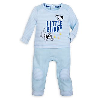 Disney Store 101 Dalmatians Blue Baby Body Suit
