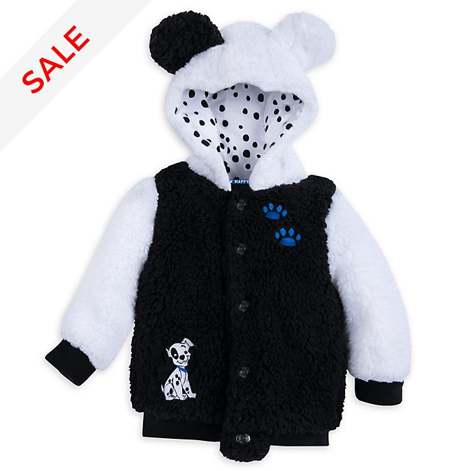 Disney Store 101 Dalmatians Baby Hooded Jacket