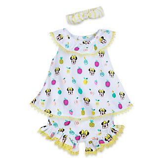 0f25206ca Conjunto camiseta y pantalón Minnie para bebé