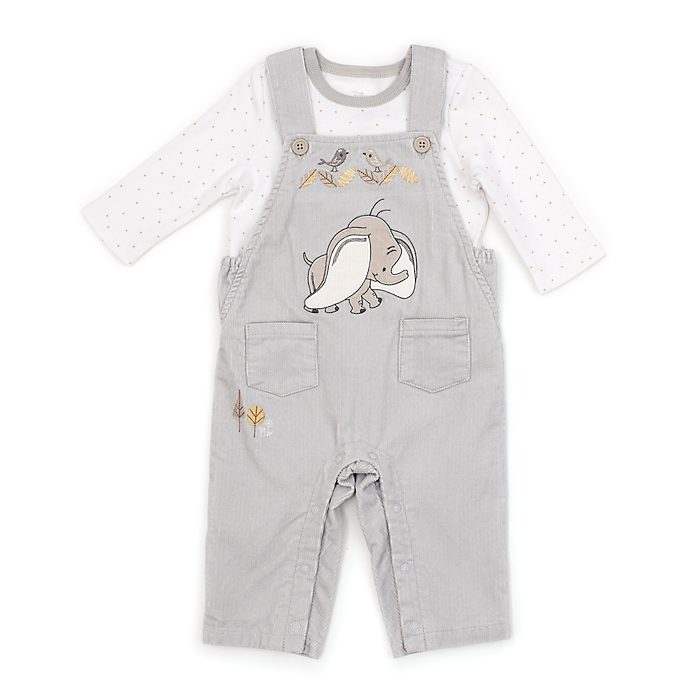 Disney Store Dumbo Baby Dungaree and T-Shirt Set
