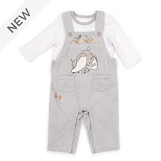 Disney Store Dumbo Baby Dungaree and T-Shirt Set
