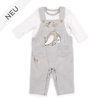 Disney Store - Dumbo - Set aus Latzhose und T-Shirt für Babys
