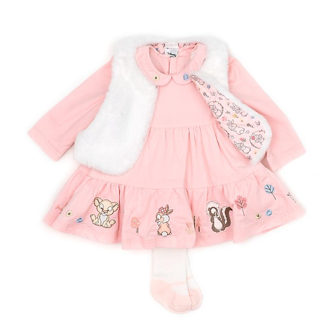 Disney Store Simba and Miss. Bunny Baby Dress and Gilet Set