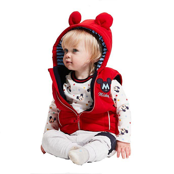 Disney Store - Micky Maus - Set mit Oberteil, Hose und Weste für Babys