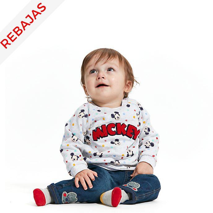 Conjunto de sudadera, vaqueros y calcetines Mickey Mouse para bebé, Disney Store