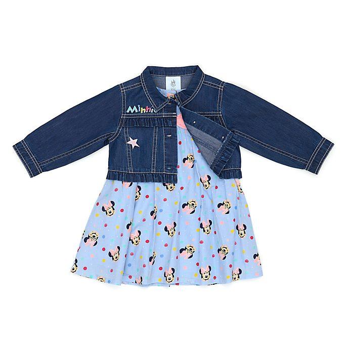 Disney Store Ensemble robe et blouson Minnie Mouse pour bébé