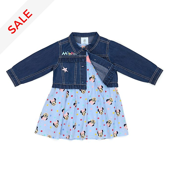 Disney Store Minnie Mouse Baby Dress and Jacket Set