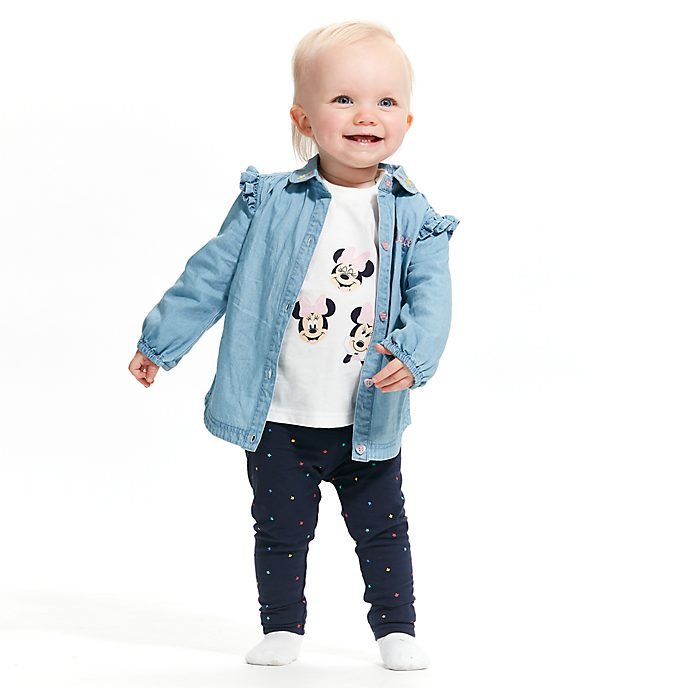 Disney Store Ensemble chemise et legging Minnie Mouse pour bébé