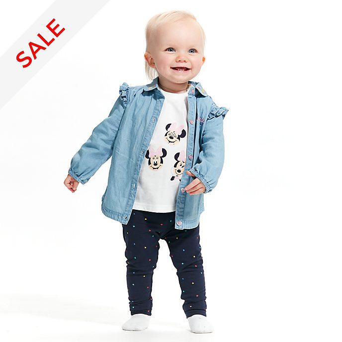 Disney Store - Minnie Maus - Set mit Shirt und Leggings für Babys