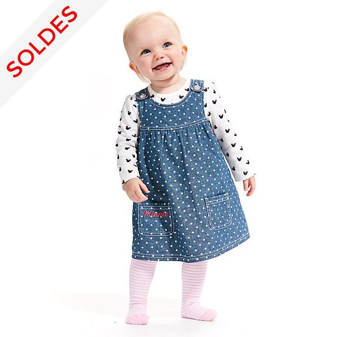 Disney Store Ensemble Robe chasuble et t-shirt Minnie Mouse pour bébé