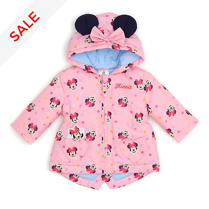 Disney Store Minnie Mouse Baby Raincoat